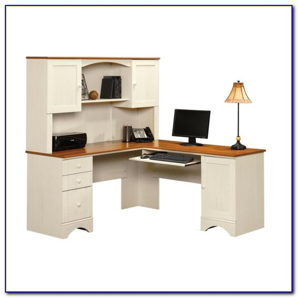 Sauder Harbor View Desk White