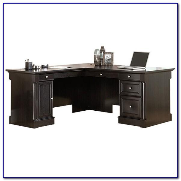 Sauder L Shaped Desk Salt Oak