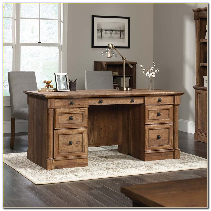 Sauder Palladia Executive Desk Instructions