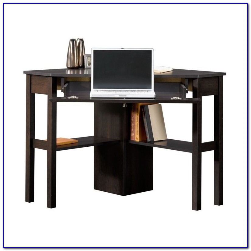 Sauder Parklane Collection Computer Desk Cinnamon Cherry