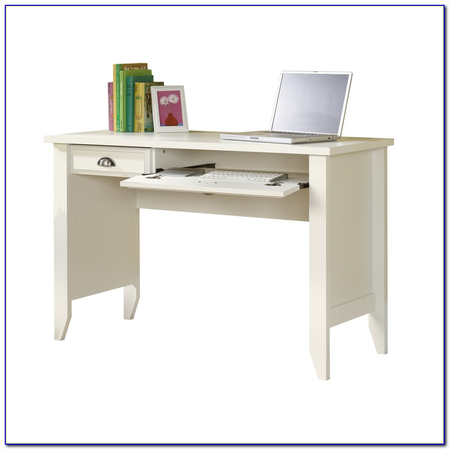 Sauder Shoal Creek Computer Desk In Diamond Ash