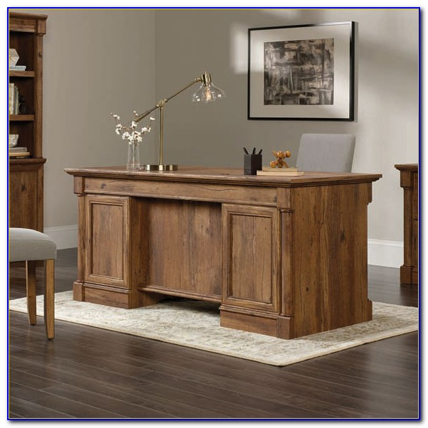 Sauder Woodworking Palladia Collection Executive Desk