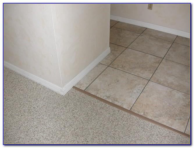 Schluter Tile To Carpet Transition Strip