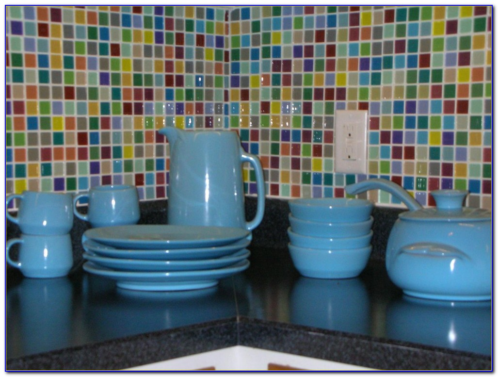 Self Adhesive Glass Tiles For Kitchen Backsplash