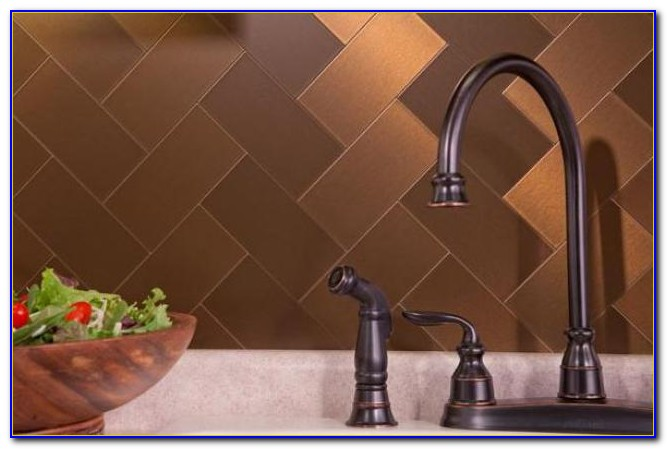 Self Stick Ceramic Tile Backsplash