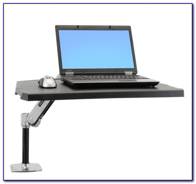Sit Stand Computer Desk Workstation