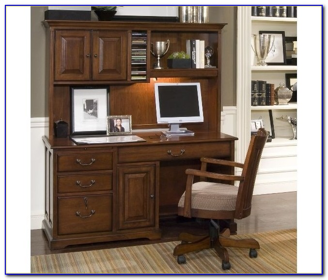 Small Computer Desk With Hutch