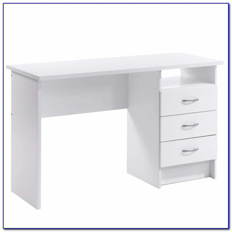 Small Desk With Drawers On Left Side
