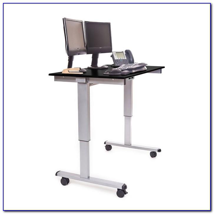 Stand Up Desk Adjustable Keyboard Riser