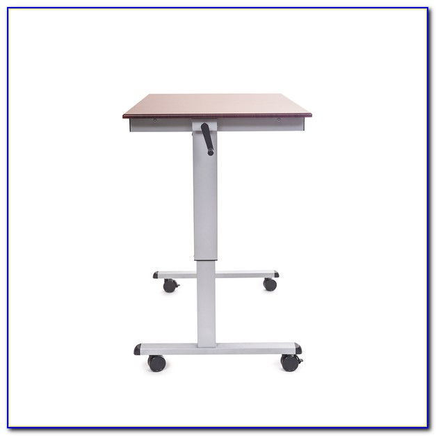Stand Up Sit Down Adjustable Desk