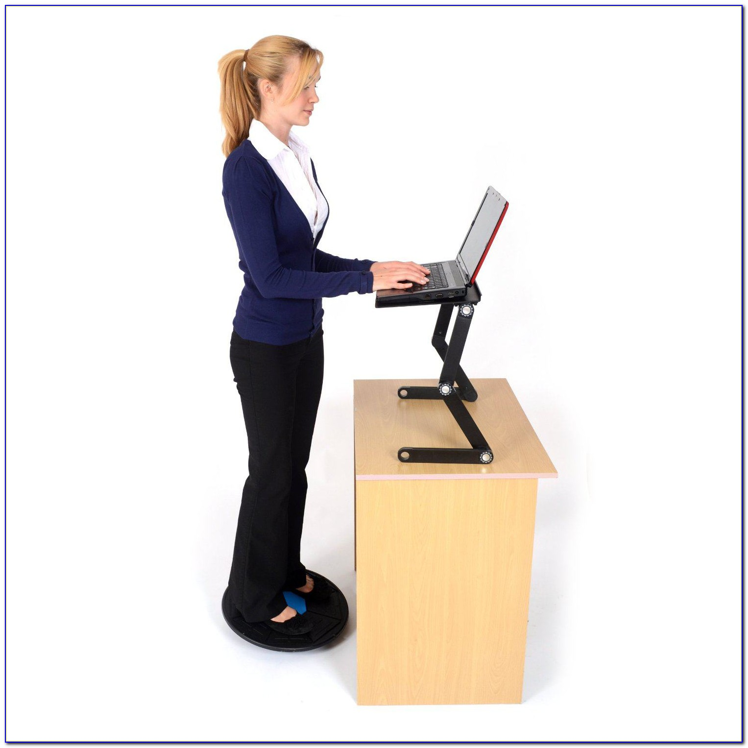 Standing Desk Exercise Equipment