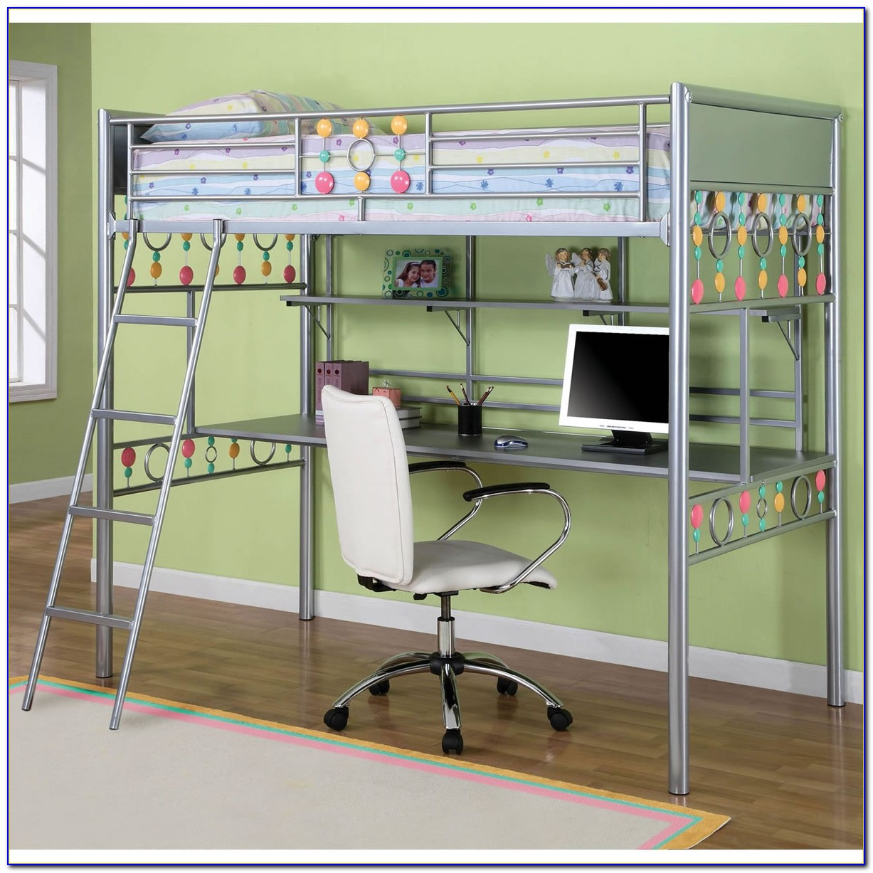 Teenage Bunk Beds With Desk Uk