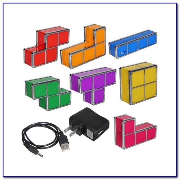 Tetris Stackable Led Desk Lamp Ebay