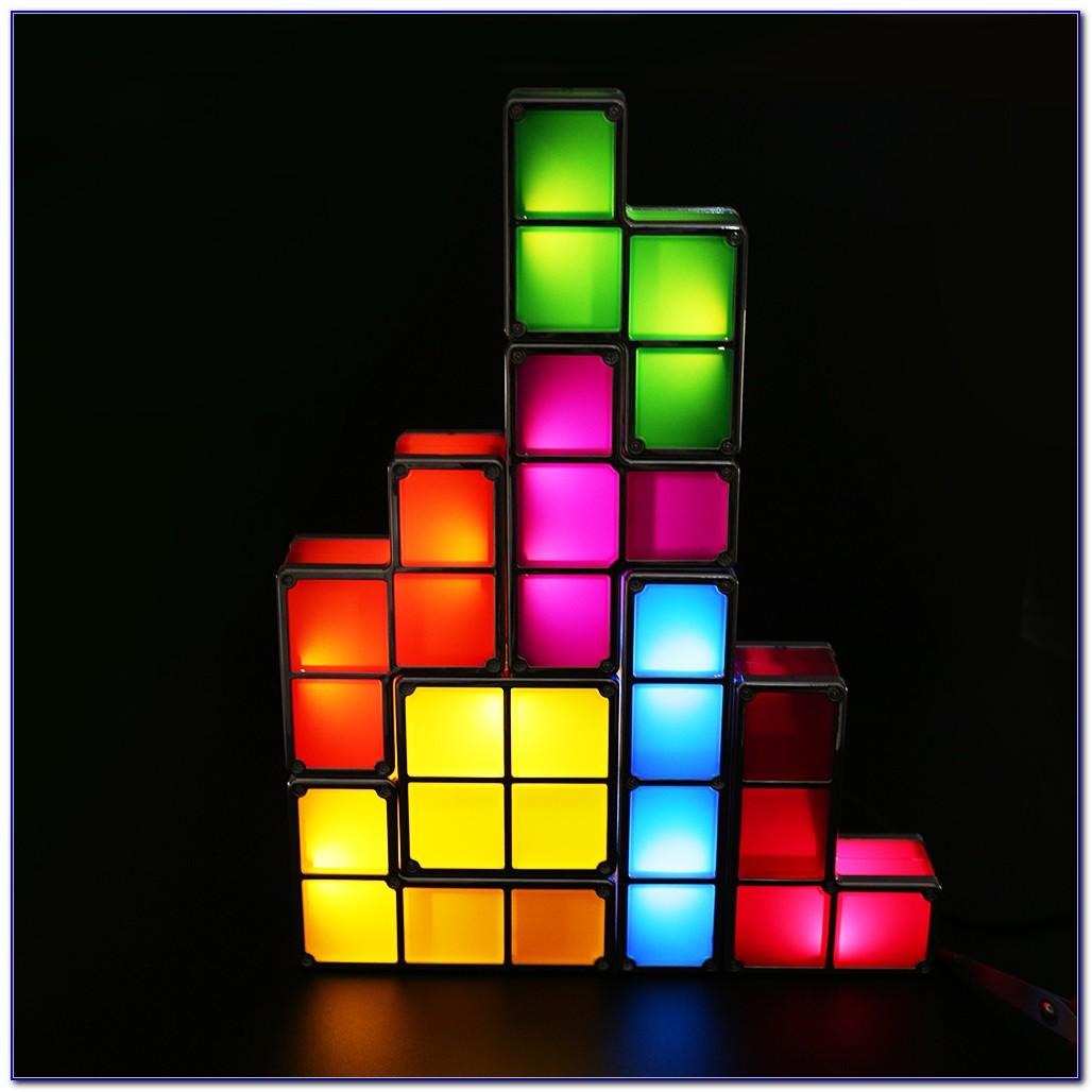 Tetris Stackable Led Desk Lamp Uk