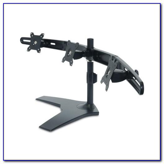 Triple Monitor Desk Stand 24