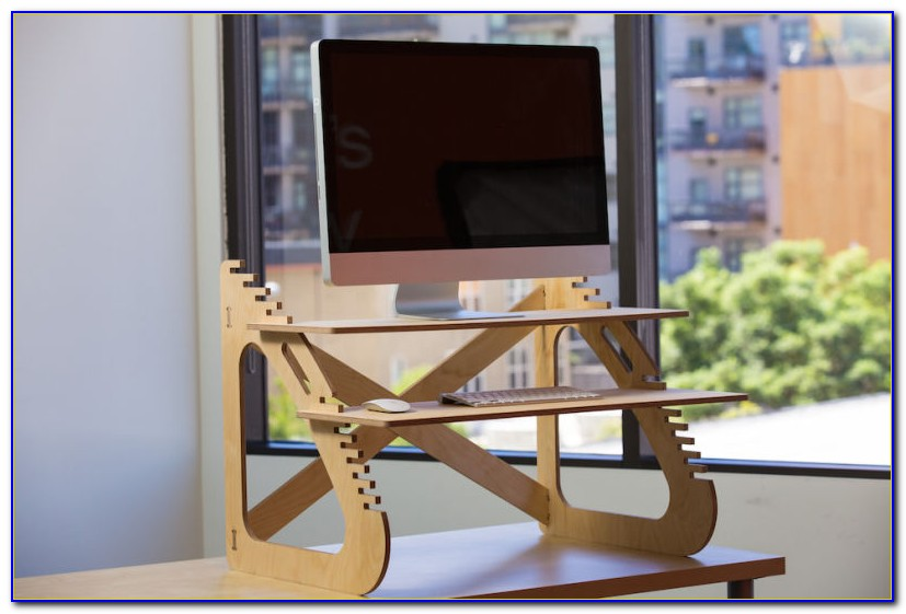 Turn Regular Desk Into Stand Up Desk