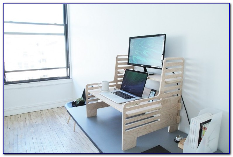 Turn Standard Desk Into Standing Desk