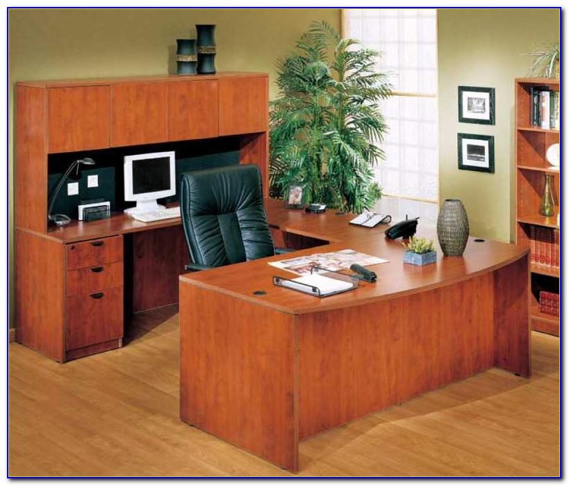U Shaped Executive Office Desk