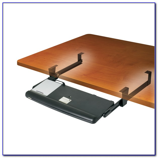 Under Desk Keyboard Drawer With Mouse Tray