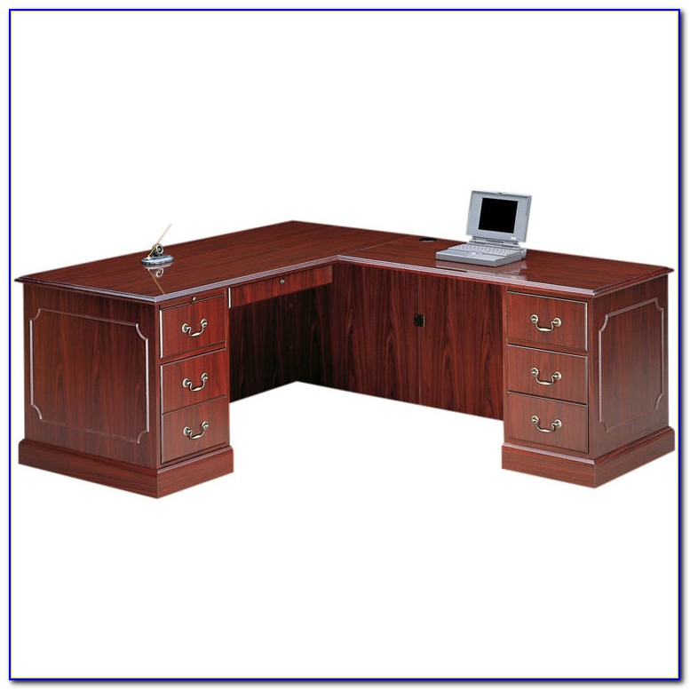 Used Hon L Shaped Desk
