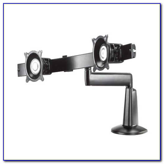 Visidec Articulated Arm Dual Monitor Desk Mount
