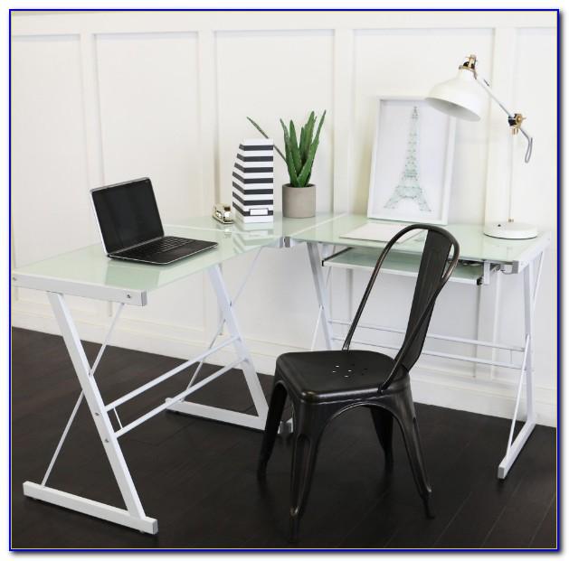 Walker Edison Soreno 3 Piece Corner Desk Dimensions
