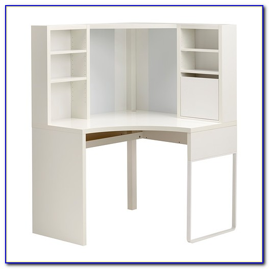 White Corner Desk With Hutch Ikea