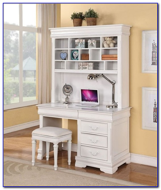 White Desk And Hutch Uk