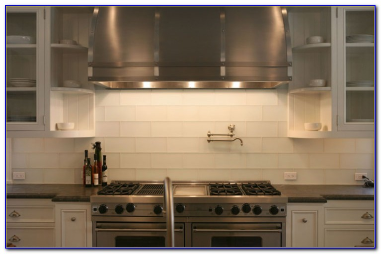 White Glass Tile Backsplash Pictures