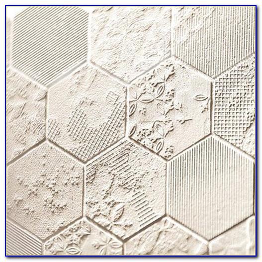 White Marble Mosaic Floor Tile