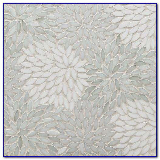 White Mosaic Floor Tile