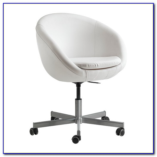 White Swivel Desk Chair Ikea