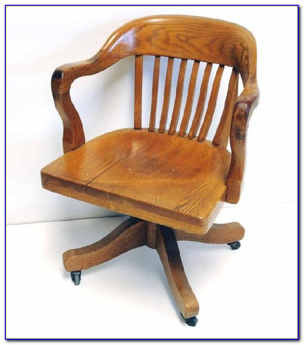 Wooden Swivel Desk Chair Parts