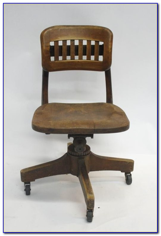Wooden Swivel Desk Chair Target