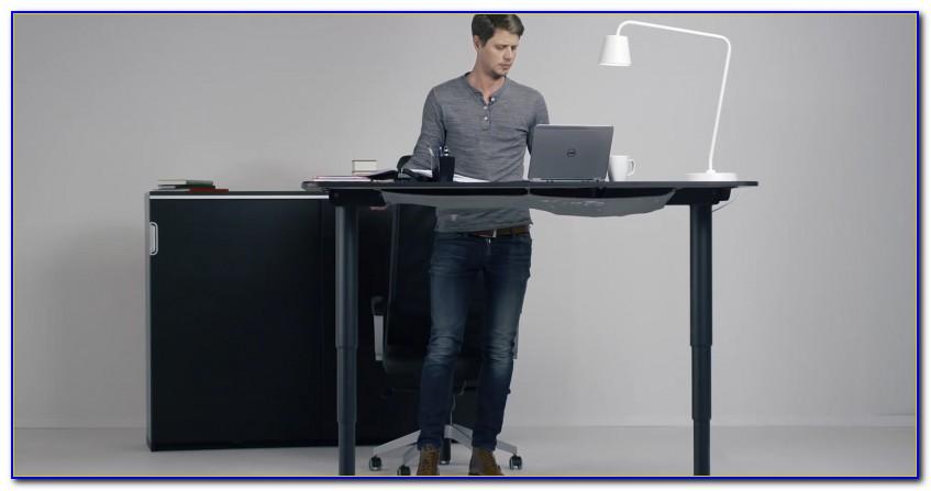 Adjustable Sit Stand Desk Ikea