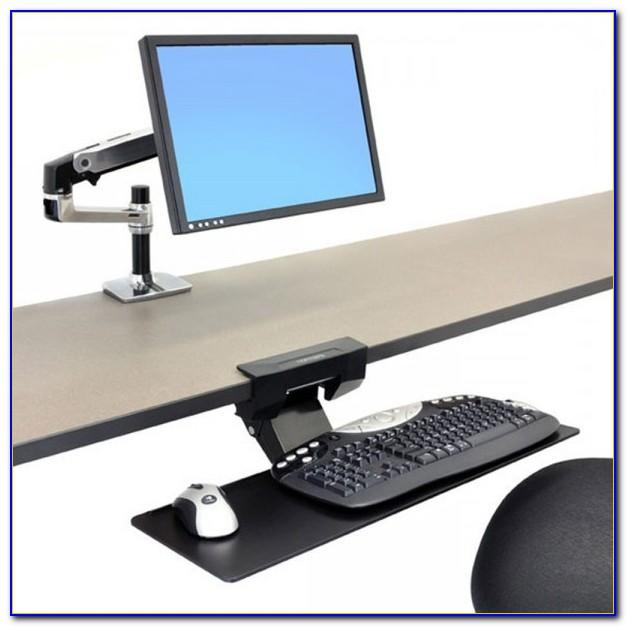 Adjustable Under Desk Keyboard Trays