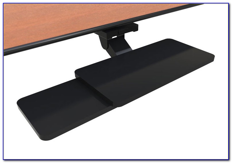 Anthro Under Desk Keyboard And Mouse Tray Caddy