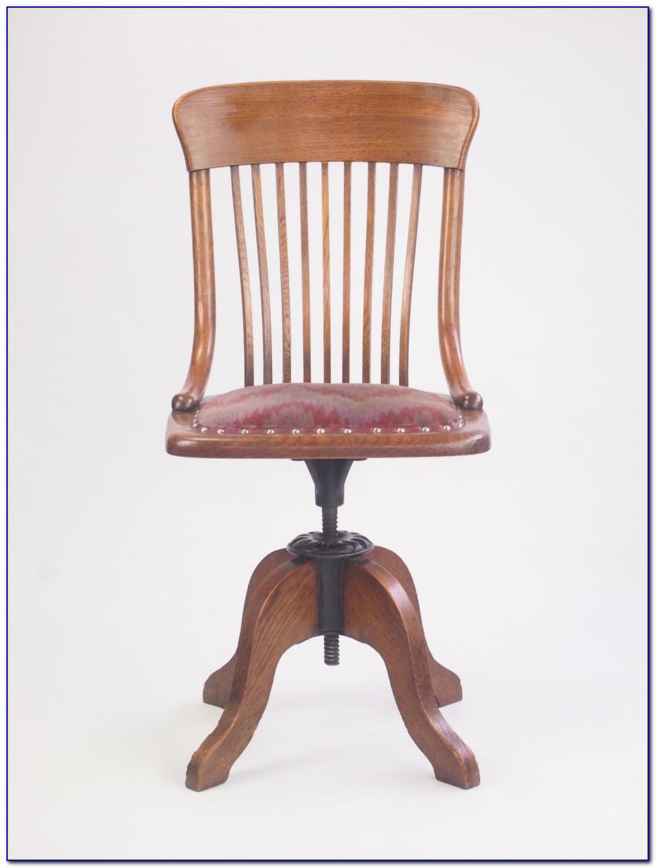 Antique Swivel Desk Chair Uk