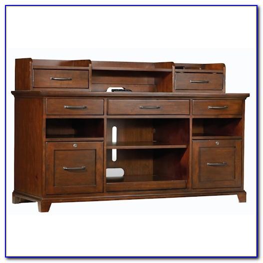 Arlington Executive Desk Hutch And Credenza Combo