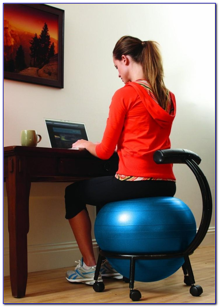 Balance Ball Desk Chair
