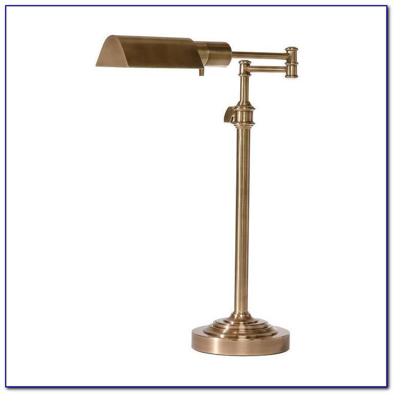 Brass Pharmacy Table Lamp