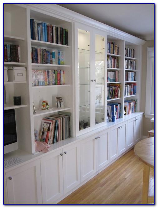 Built In Desk And Shelves Uk