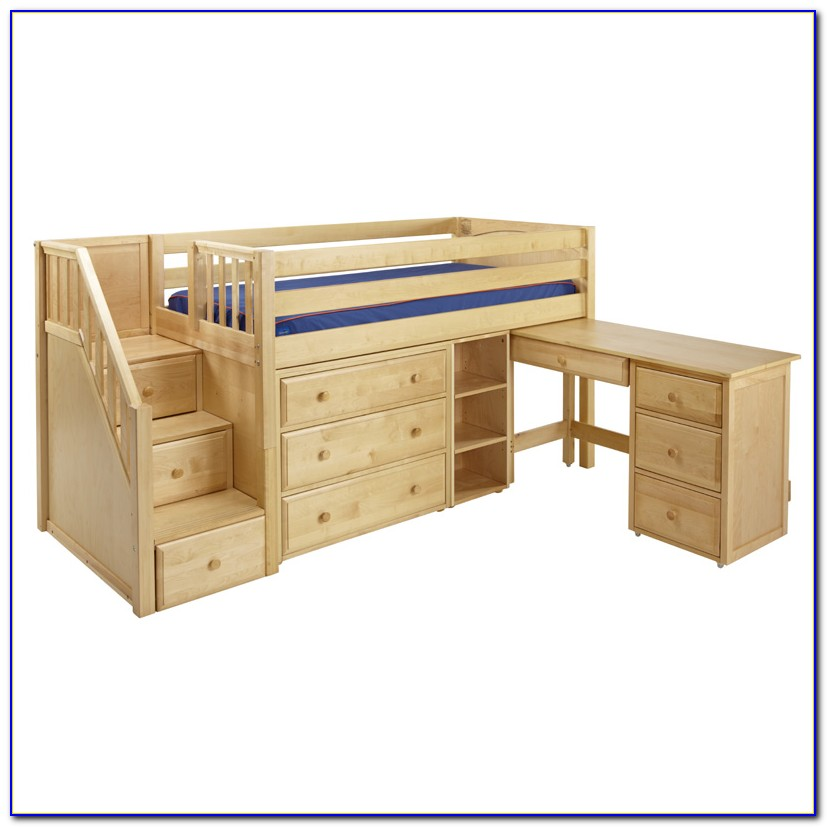 Bunk Bed With Dresser And Desk Plans