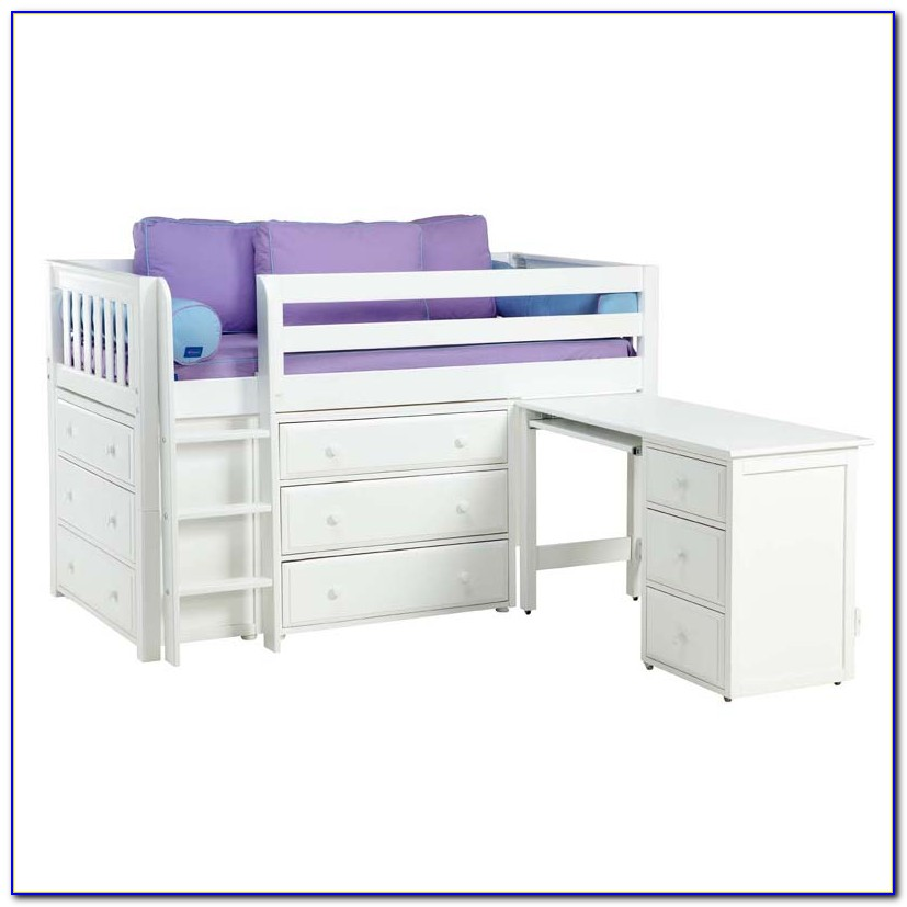 Bunk Bed With Dresser And Desk