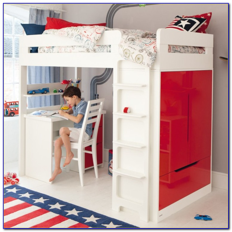 Bunk Beds With Desk For Boys