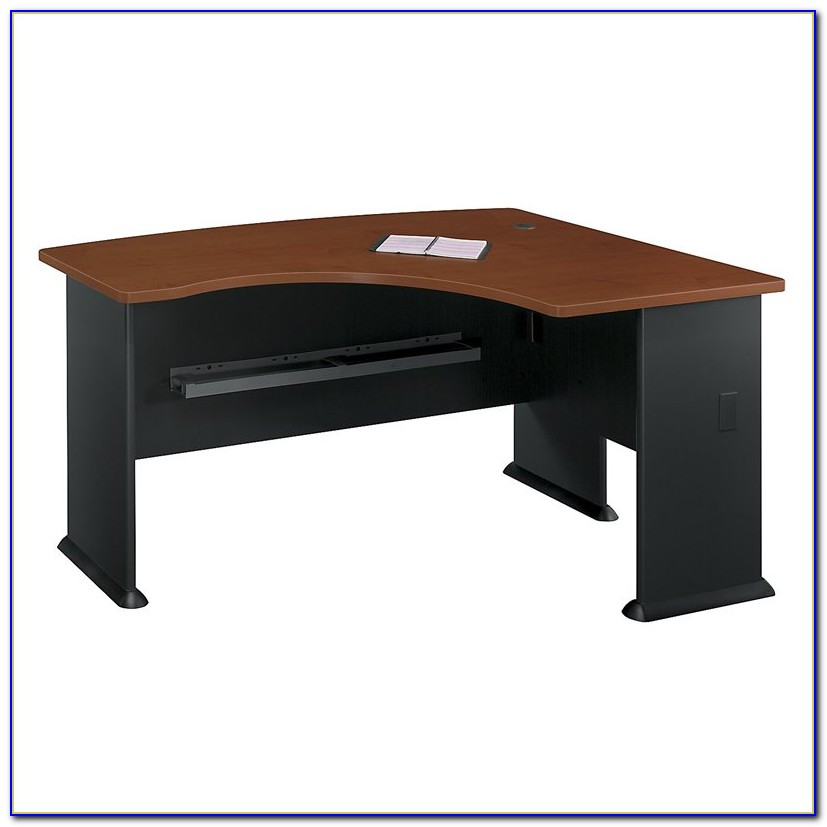 Bush Furniture Fairview L Shaped Wood Computer Desk In Black
