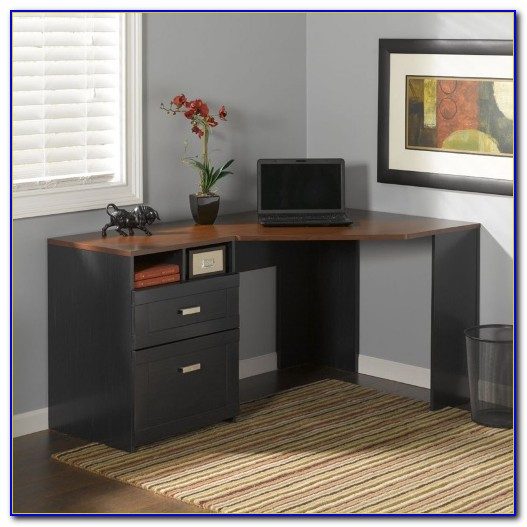 Bush Wheaton Corner Computer Desk Dimensions
