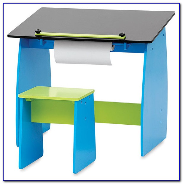 Children's Drawing Desk And Chair