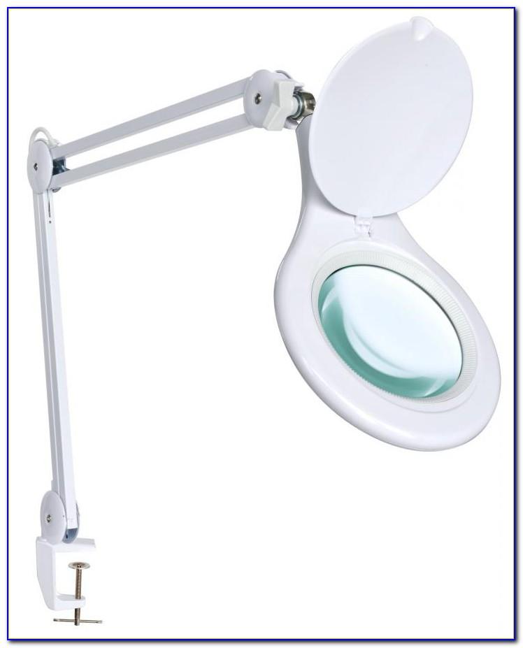 Clarke Magnifying Clamp Desk Lamp