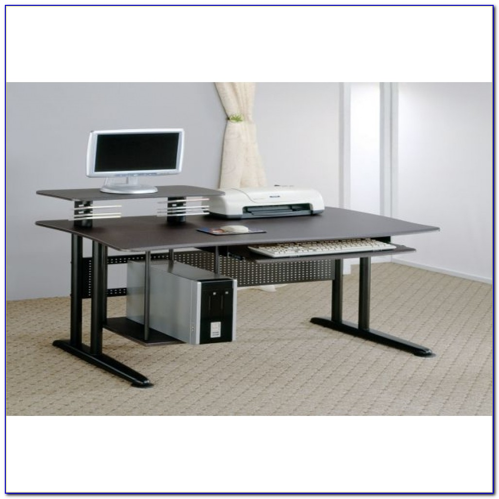 Computer Desks With Large Keyboard Tray